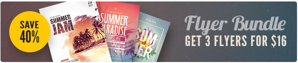 Summer Flyer Bundle Vol14