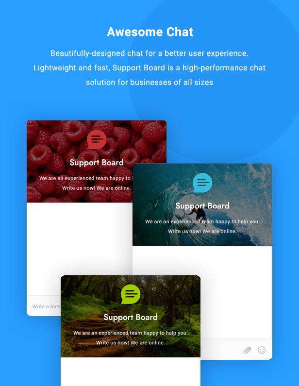 Chat - Support Board - WordPress Chat Plugin - 2