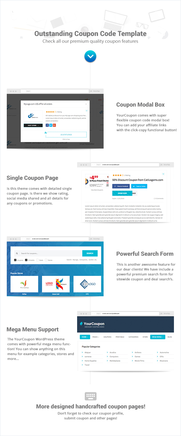 Yourcoupon | Coupons & Deals WordPress Theme by PSDConvertHTML ...