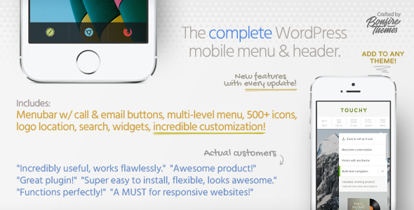 ROWE Mobile Theme for WordPress - 1
