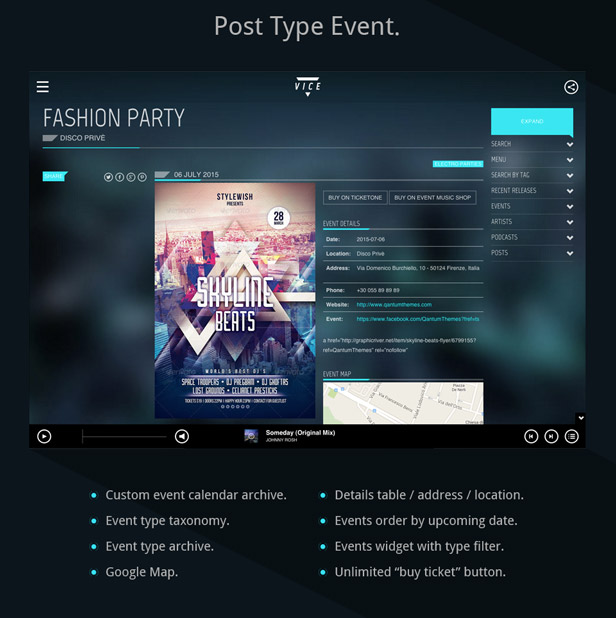 Themeforest Music Wordpress Theme