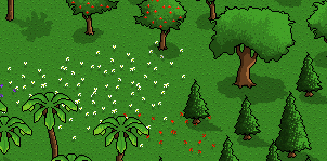 Pixel Art Trees and Flowers Pack