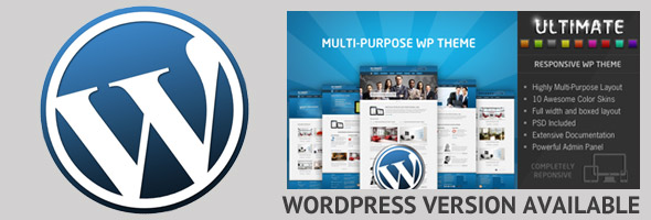 wordpress version link