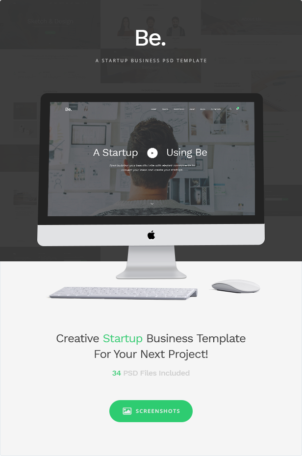 Be - Startup Business Template - 7