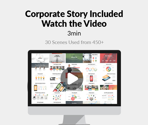 Corporate Bundle & Infographics - 8