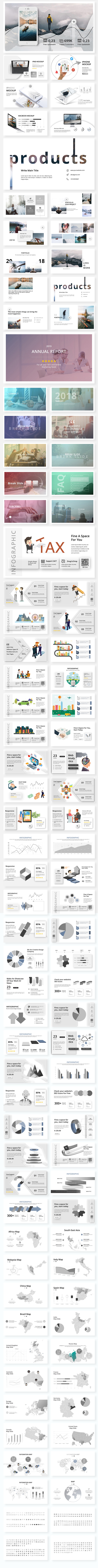 Marvel Creative & Model Powerpoint Template BIG UPDATE V2 0