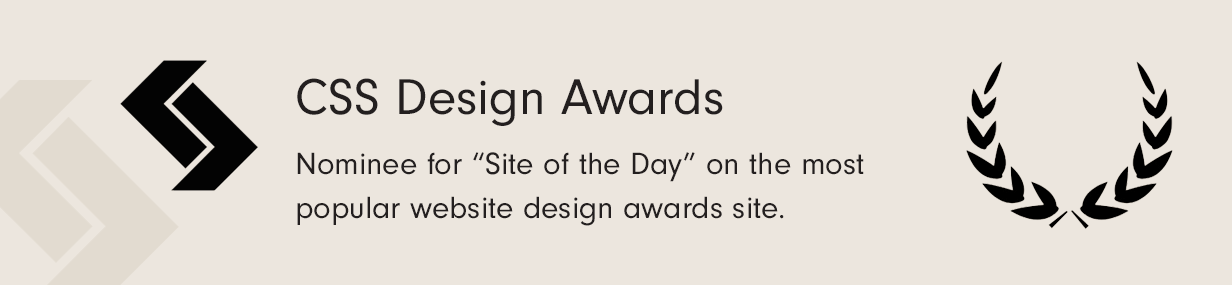 CSS Award Site of the Day