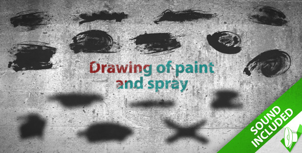 Paint and spray elements