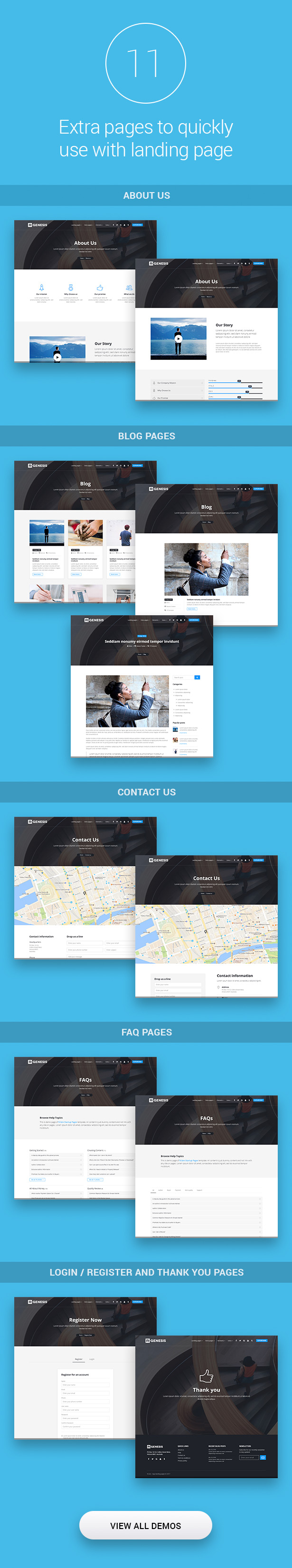 Startup Landing Pages - 3