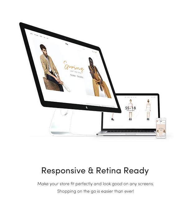 fashion themes 2018 - fully responsive design
