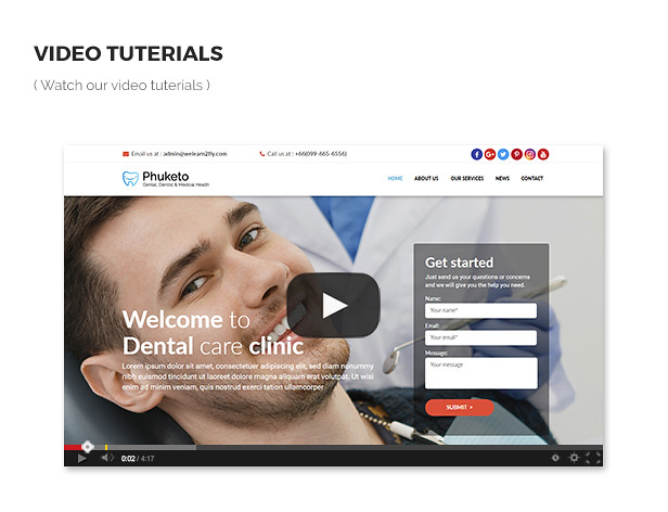 Phuketo - Dental, Dentist & Medical Health Template