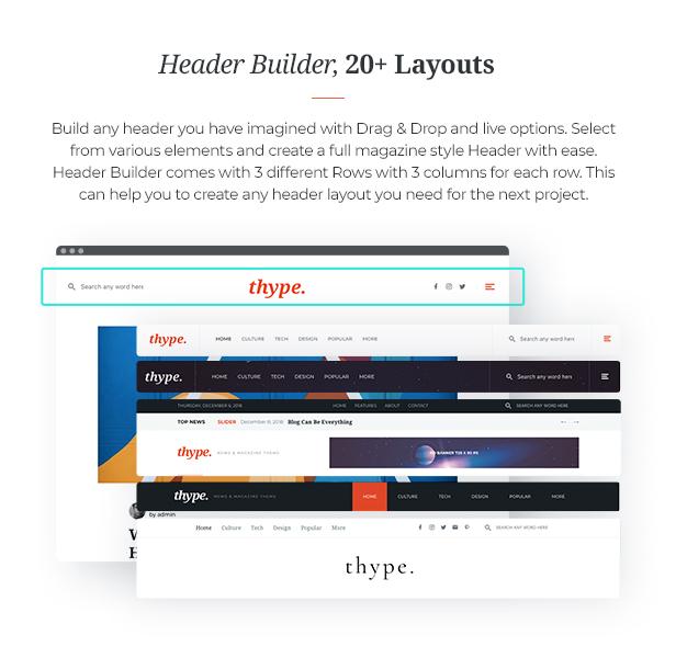 Thype   Personal Blog WordPress - 7