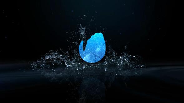 Water Drop Splash Logo - 68
