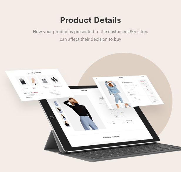 Minimal WooCommerce Shop WordPress Theme - Product Details