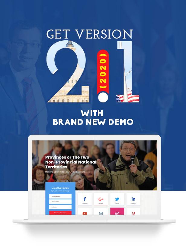 Actavista - A Responsive Political WordPress Theme For Politicians and Organizations - 2