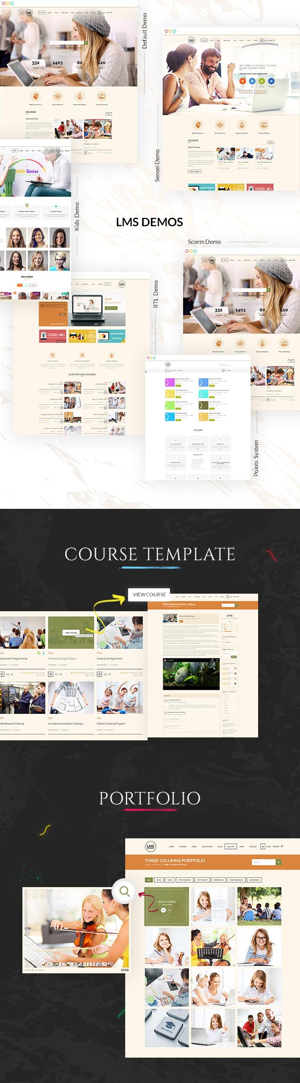LMS Education WordPress Theme - 3