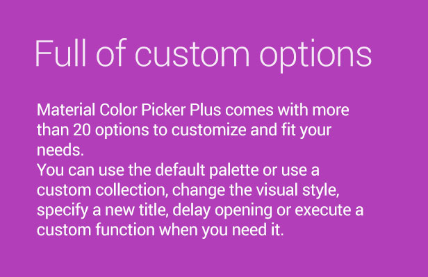 Material Color Picker Plus Features 2
