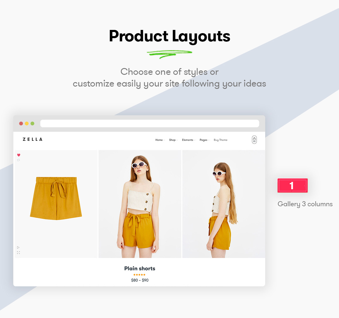 Zella - WooCommerce AJAX WordPress主题 - RTL支持 - 7