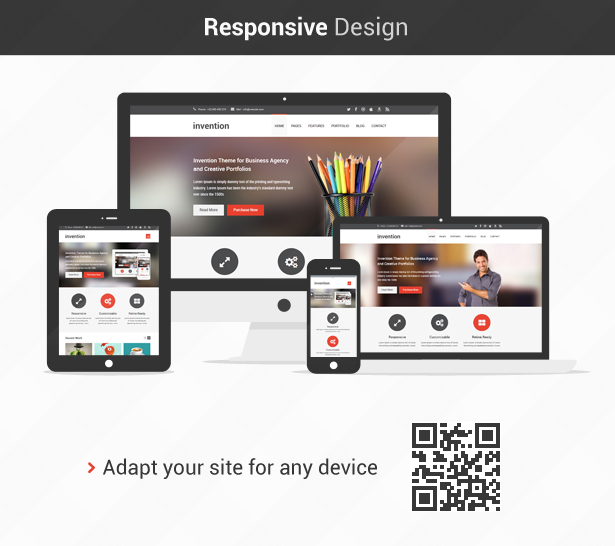 Invention Responsive Html5 Template By Jozoor Themeforest