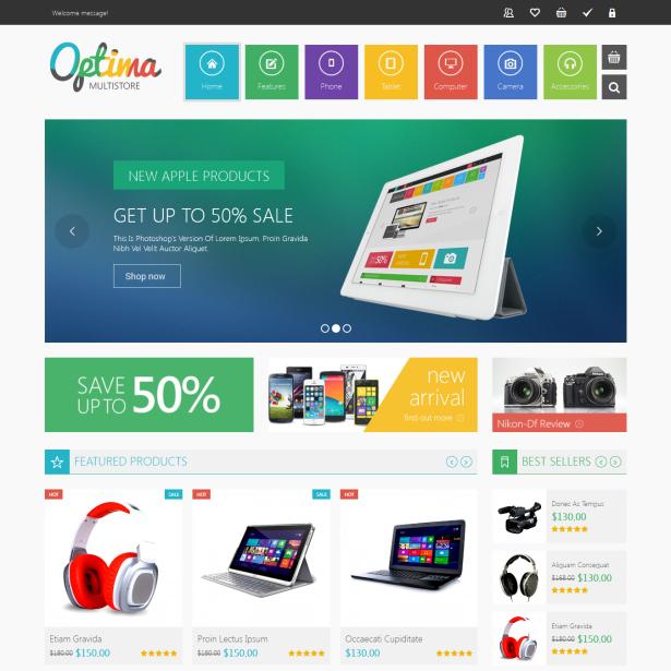 VG Optima - MultiStore WordPress WooCommerce Theme - 7