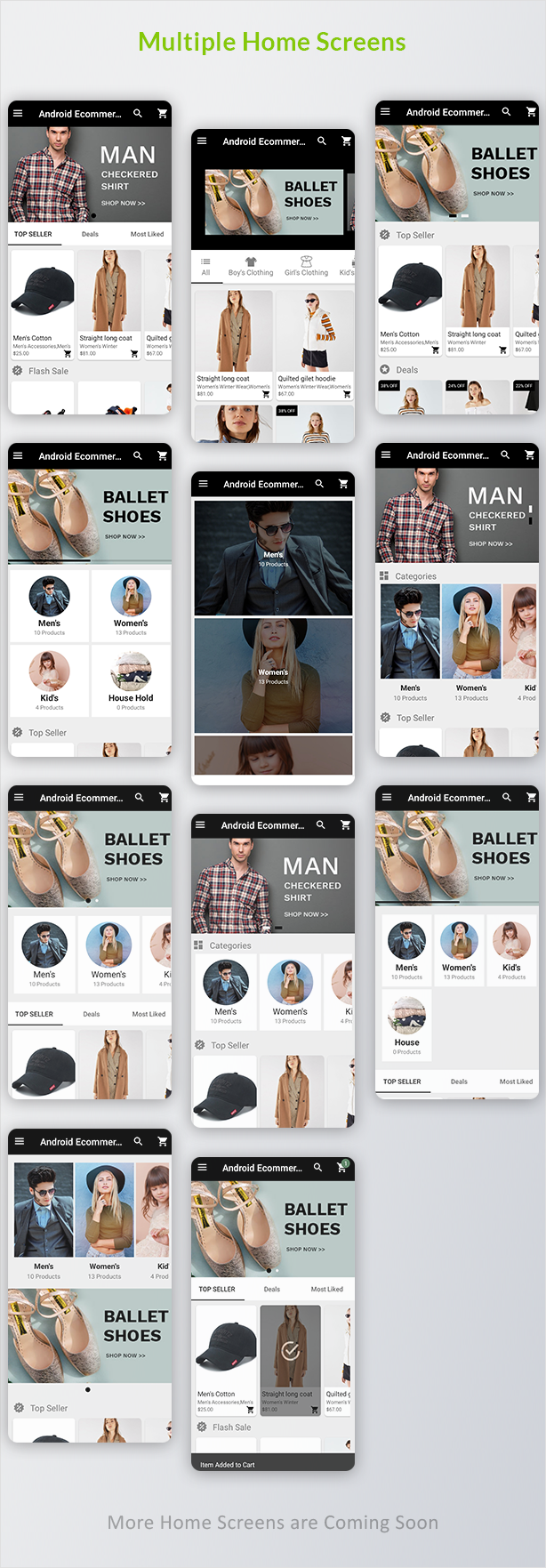 Android Ecommerce - Universal Android Ecommerce / Store Full Mobile App with Laravel CMS - 9