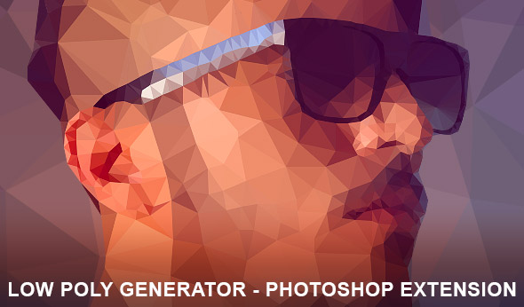 Low Poly Generator Photoshop Extension