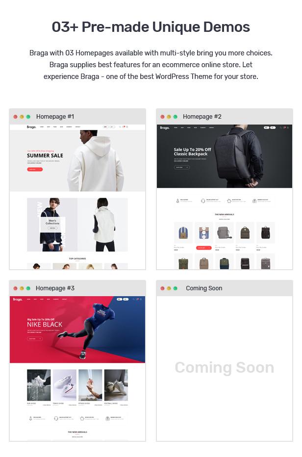 Braga - Fashion Theme for WooCommerce WordPress 23