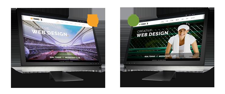WT Tennis -  HTML Sports Template - 1