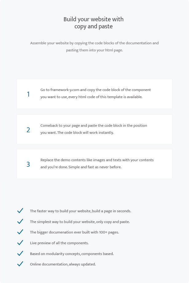 TechLine - Web services, businesses and startups modular template - 4