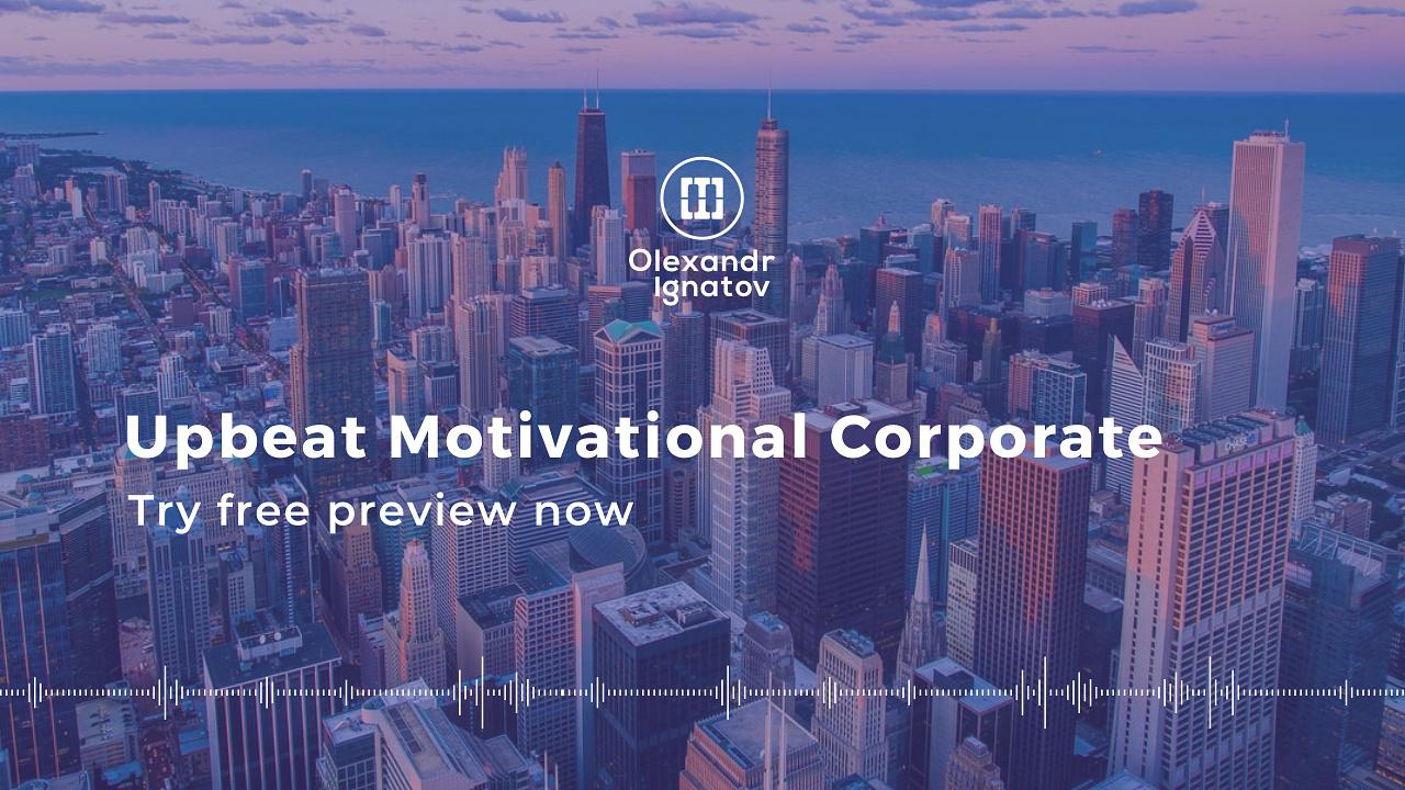 Upbeat Motivational Corporate - 1