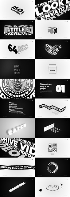 Isokinetic - Titles And Typography - 3