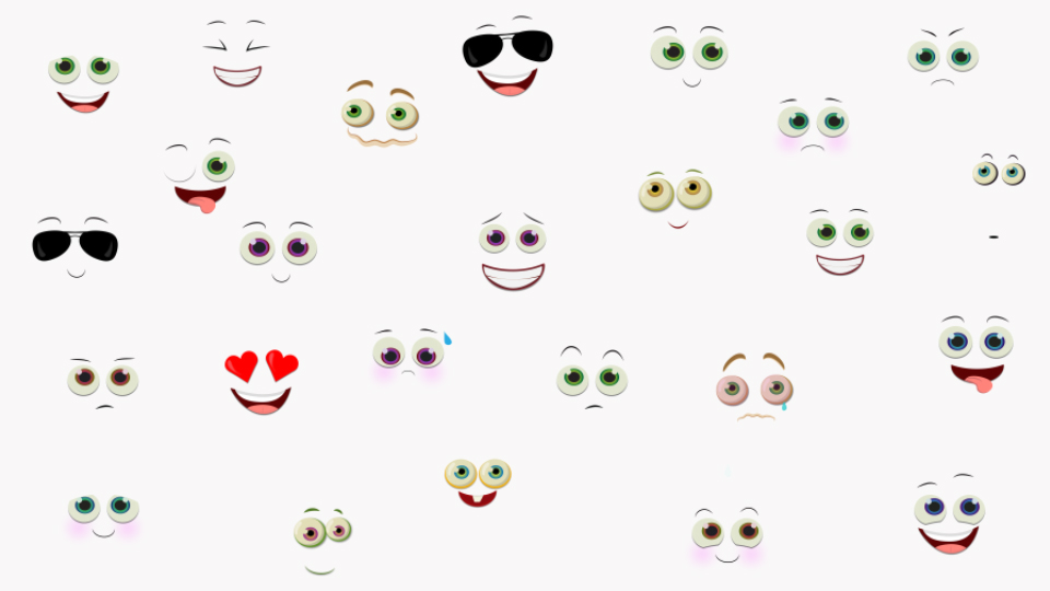 Cartoon Emoticons V.3 - 3