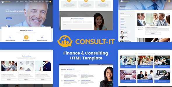 Coyote - Responsive Business HTML5 Template - Business Corporate