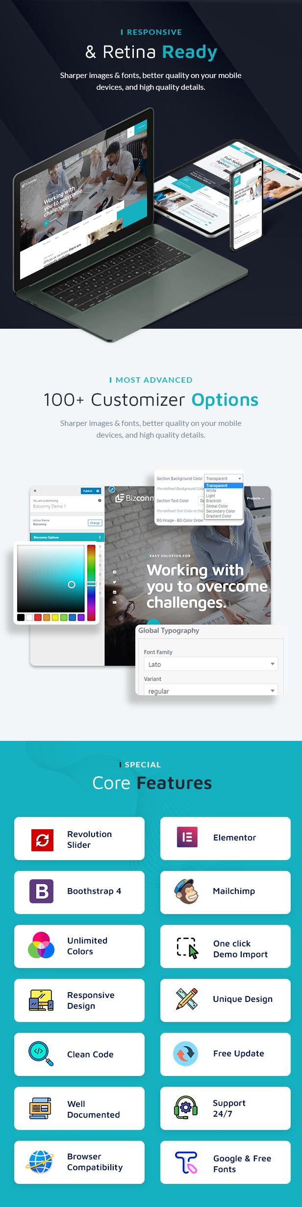 Bizconmy WordPress Theme