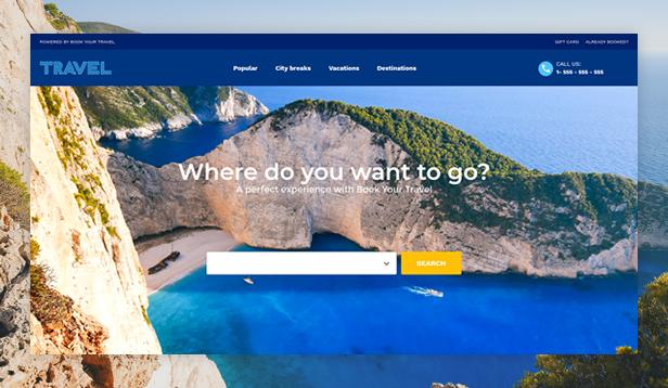 Travel Tours WordPress Theme
