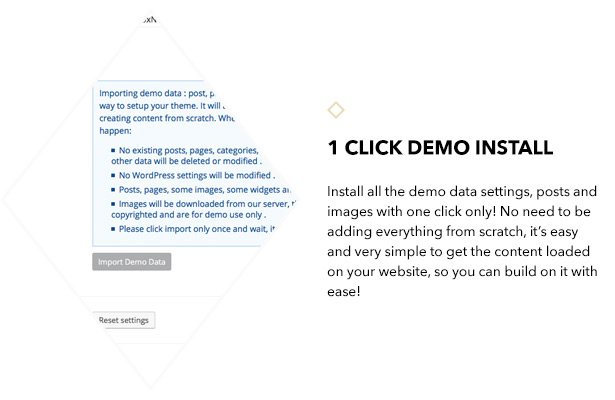 1 click demo install