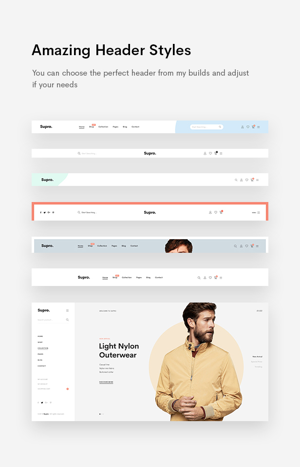 Supro - Minimalist AJAX WooCommerce WordPress Theme - 15