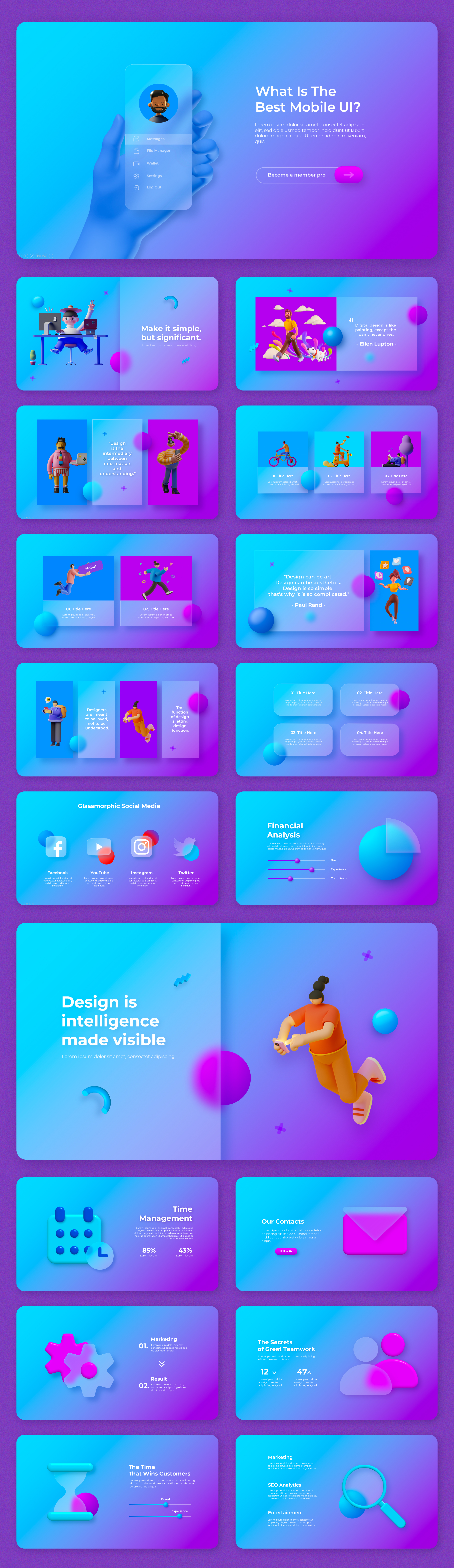 Multipurpose Infographics PowerPoint Templates v.5.0 - 35