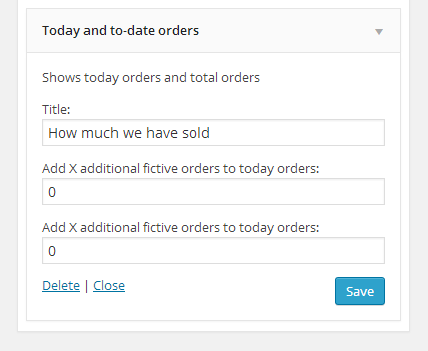 Woocommerce Today Orders and To-date orders - 1