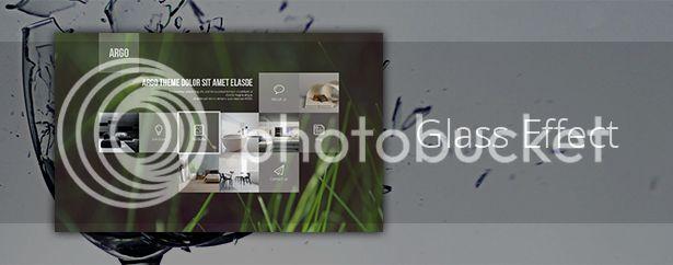 Argo - One Page Portfolio PSD Template - 7