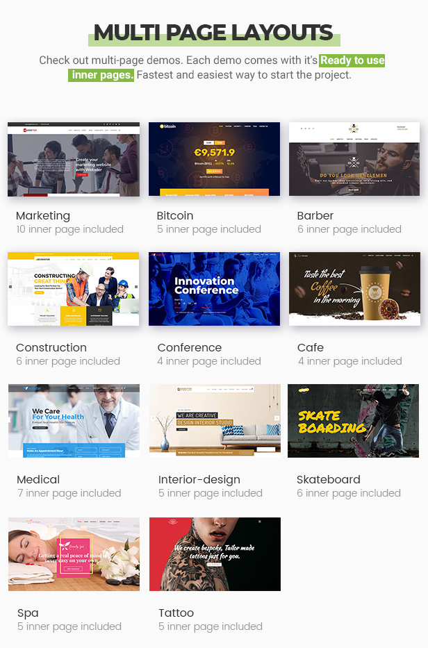 Webster - Responsive Multi-purpose HTML5 Template - 8