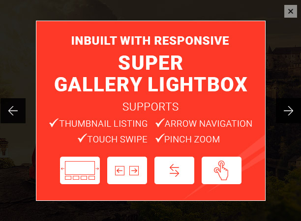 Super Gallery Responsive Lightbox