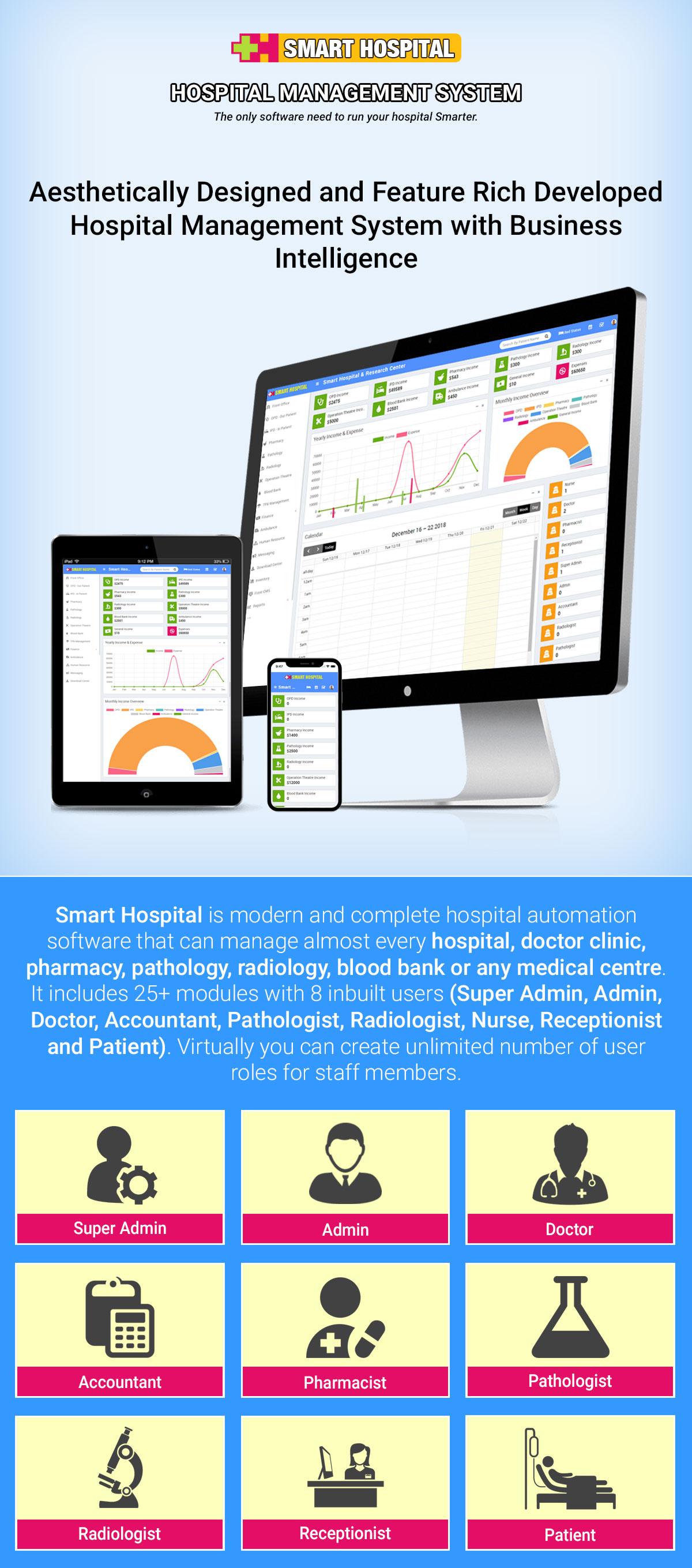 Smart Hospital : Hospital Management System - 38