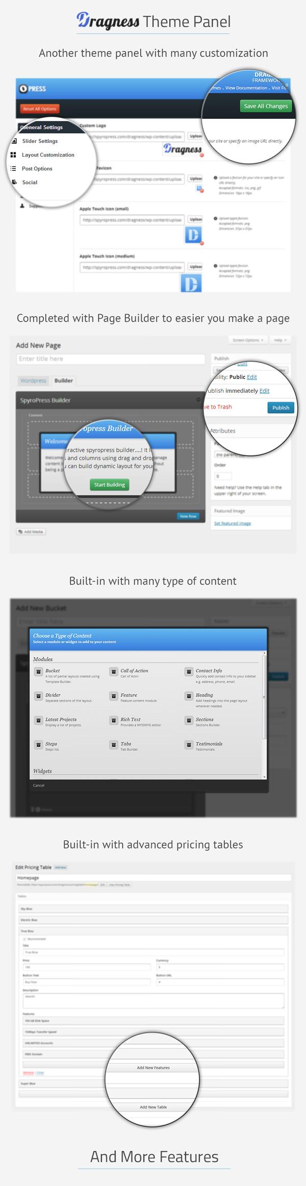 Dragness - Premium WordPress Landing Page - 6