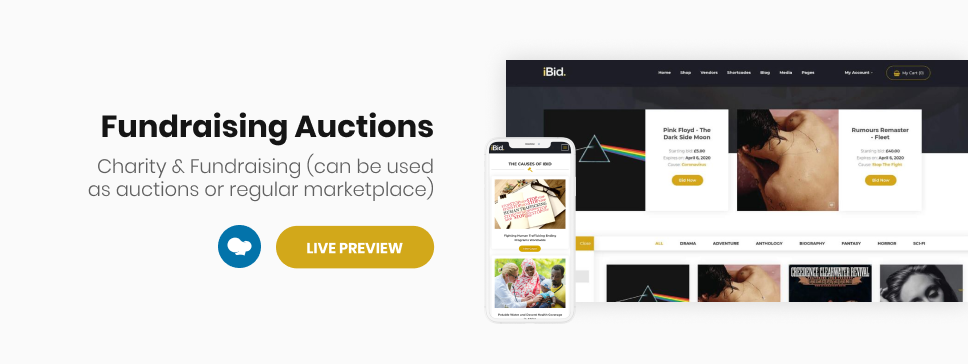 iBid - Multi Vendor Auctions WooCommerce Theme - 15