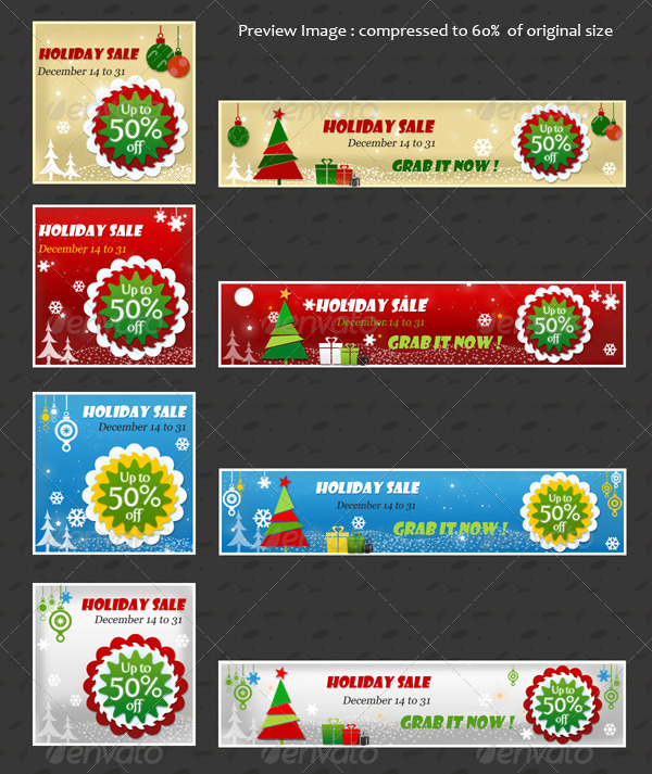 Festive2 - Christmas Newsletter Template - 4
