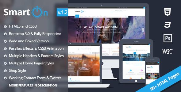 SmartOn - HTML