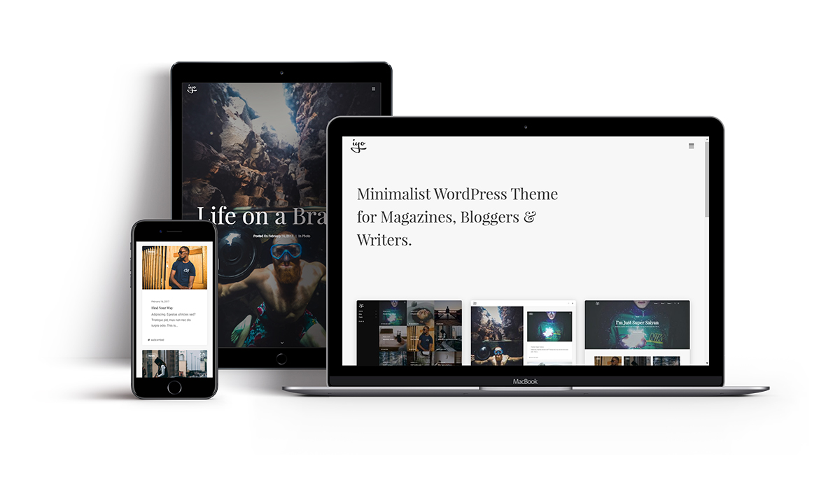 iyo - Minimal WordPress Theme