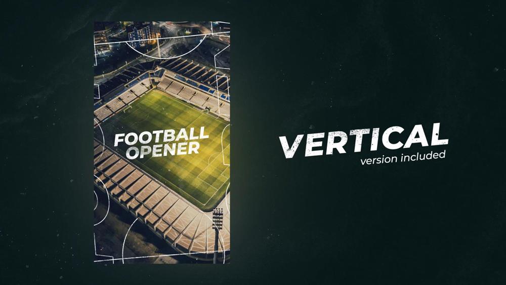 Football (Soccer) Dynamic Opener - 1