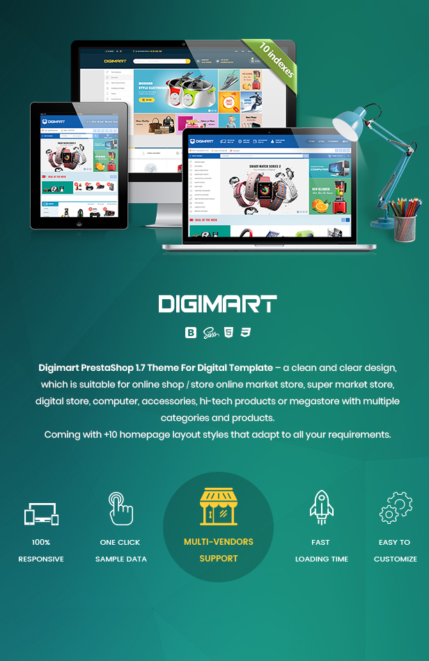 Digimart PrestaShop 1.7